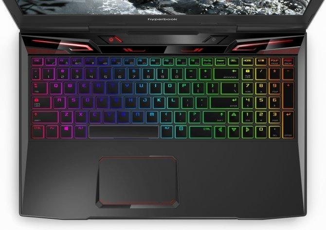 Hyperbook MK55 Pulsar - najtańszy laptop z mechanikiem [3]