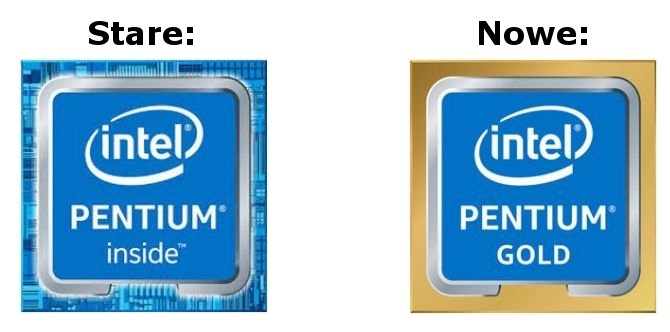Intel zmienia nazewnictwo procesorów Pentium Kaby Lake [1]