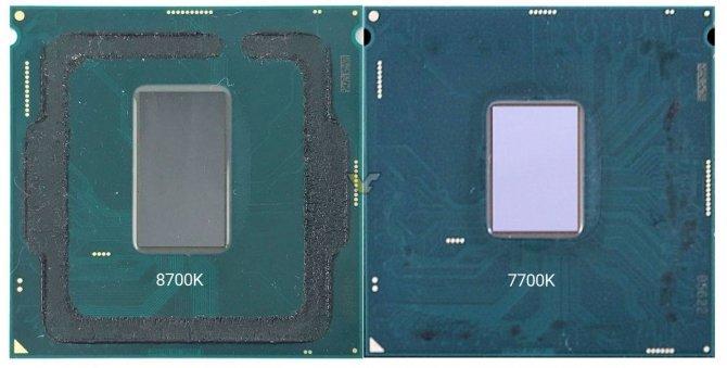 Zdjęto IHS z najnowszego procesora Intel Core i7-8700K [1]