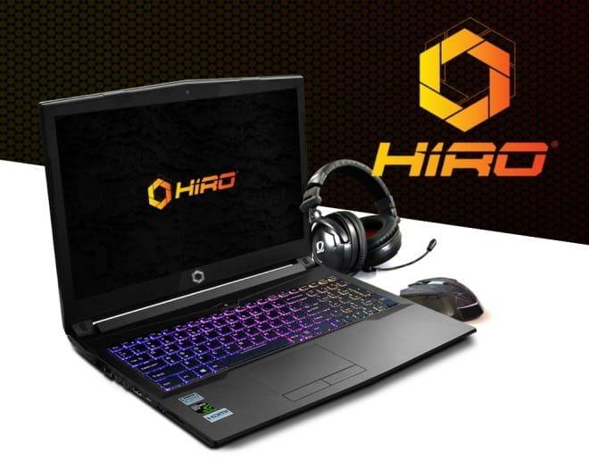 NTT HIRO Laptop - nowy notebook dla graczy dostępny w Polsce [1]
