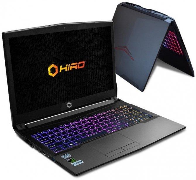 NTT HIRO Laptop - nowy notebook dla graczy dostępny w Polsce [2]