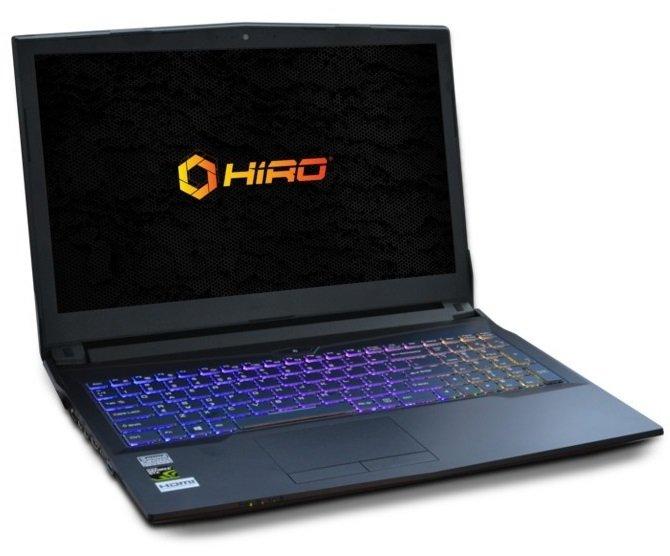 NTT HIRO Laptop - nowy notebook dla graczy dostępny w Polsce [3]