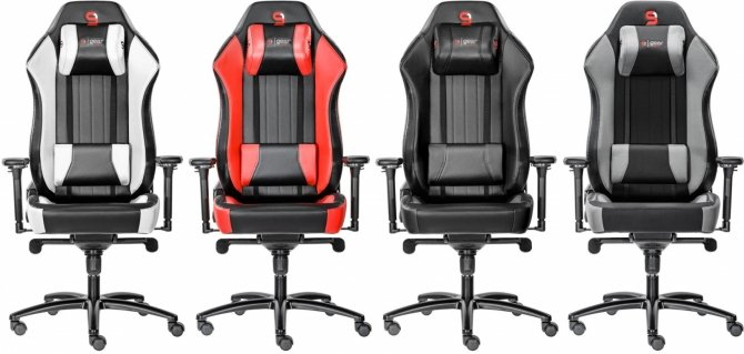 SPC Gear SR700 - fotele dla potężnych gabarytowo graczy [1]