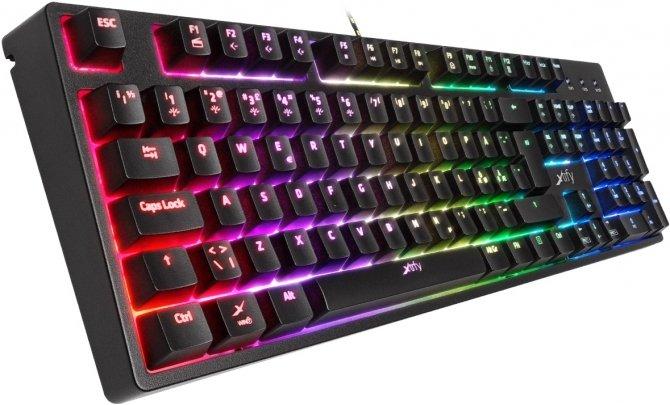 Xtrfy K3 RGB - Pseudomechaniczna klawiatura dla graczy [1]