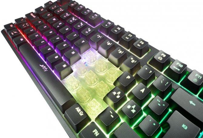 Xtrfy K3 RGB - Pseudomechaniczna klawiatura dla graczy [2]