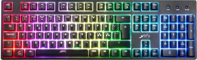 Xtrfy K3 RGB - Pseudomechaniczna klawiatura dla graczy [3]