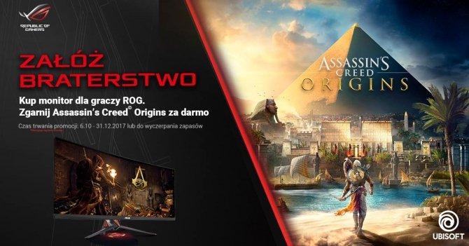 Assassin's Creed Origins za darmo do wybranych monitorów ASU [1]