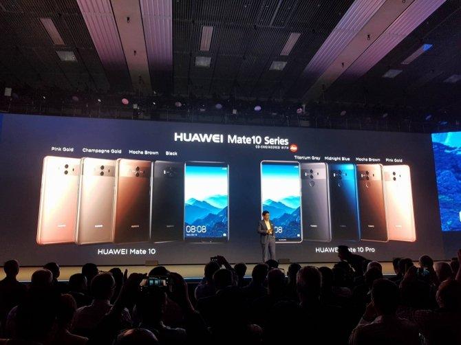 Huawei Mate 10 i Mate 10 Pro - nowe flagowce zaprezentowane [4]