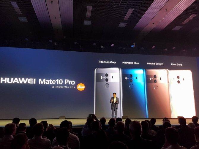 Huawei Mate 10 i Mate 10 Pro - nowe flagowce zaprezentowane [8]