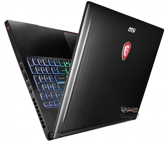 MSI GS63 7RD Stealth teraz z kartą NVIDIA GeForce GTX 1050 [1]