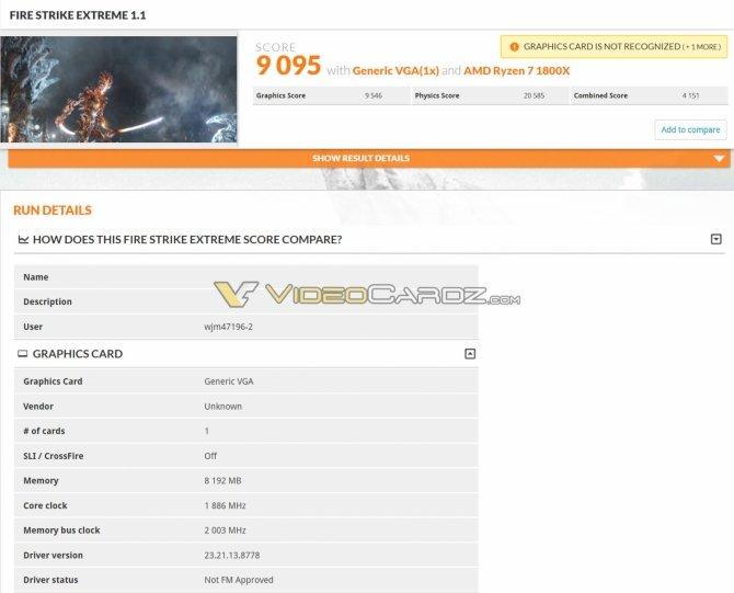 NVIDIA GeForce GTX 1070 Ti - Wyniki wydajności w 3DMarku [5]