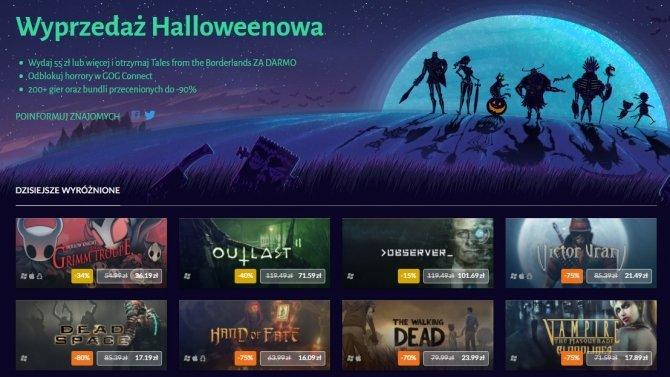 GOG.com rusza z akcją Wyprzedaż Halloweenowa [2]