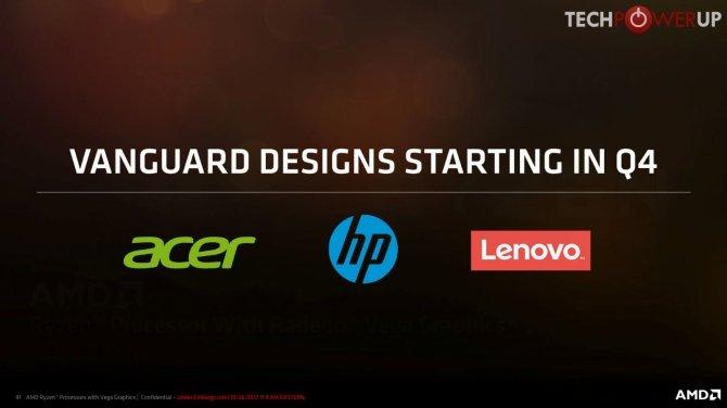 AMD Ryzen Mobile specyfikacja laptopów z nowymi procresorami [1]