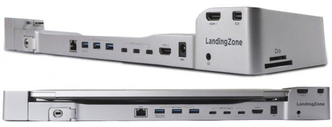 LandingZone ujawnił stację dokującą dla Apple Macbook Pro [2]