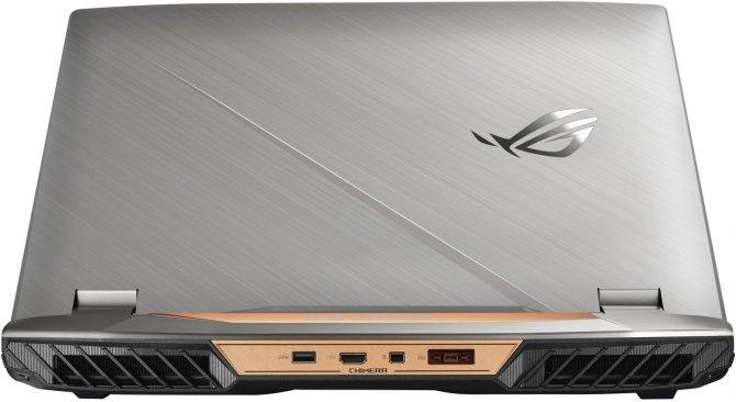 ASUS ROG G703VI specyfikacja techniczna topowego notebooka [1]