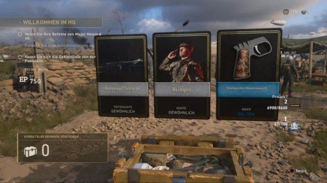 Call of Duty: WW2 każe oglądać jak inni otwierają loot boxy [1]