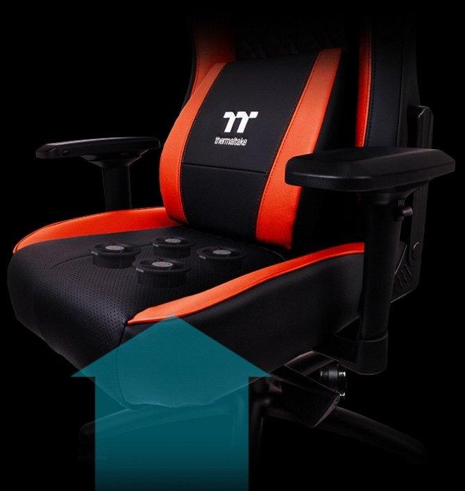 Thermaltake X Comfort Air - Fotel dla graczy z wentylatorem [1]