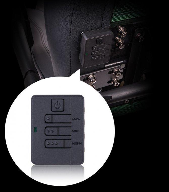 Thermaltake X Comfort Air - Fotel dla graczy z wentylatorem [3]