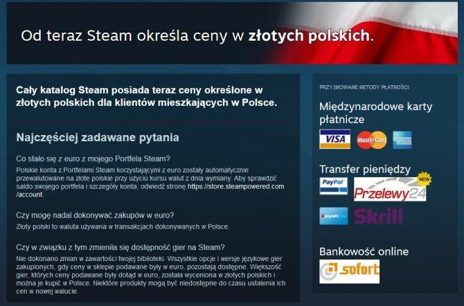 Na Steam wreszcie możemy płacić w złotówkach [2]