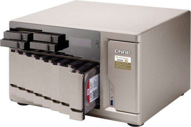 QNAP TS-x77 - Serwery NAS z AMD Ryzen debiutują na rynku [2]