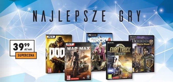 W Biedronce od 20 listopada znajdziesz nowe i tanie gry [1]