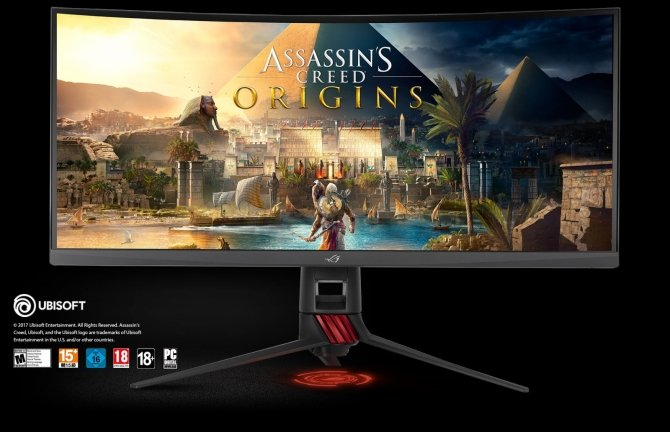 Zakrzywione, gamingowe monitory ASUS ROG XG32VQ i XG35VQ [1]