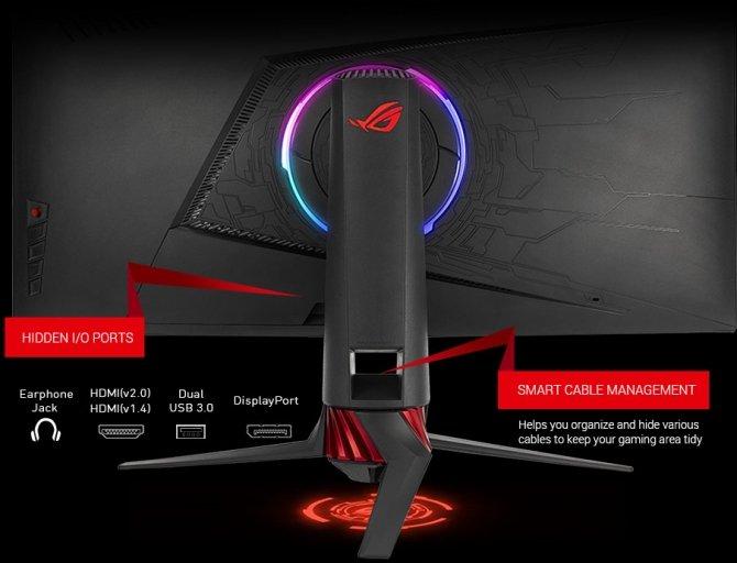 Zakrzywione, gamingowe monitory ASUS ROG XG32VQ i XG35VQ [3]