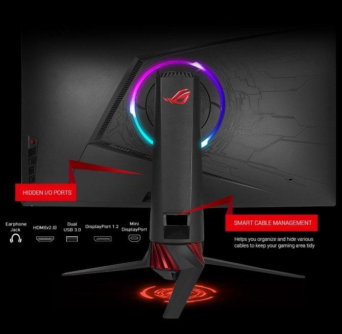 Zakrzywione, gamingowe monitory ASUS ROG XG32VQ i XG35VQ [4]