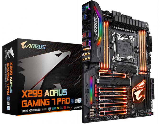 Gigabyte X299 Aorus Gaming 7 Pro - płyta dla entuzjastów [1]