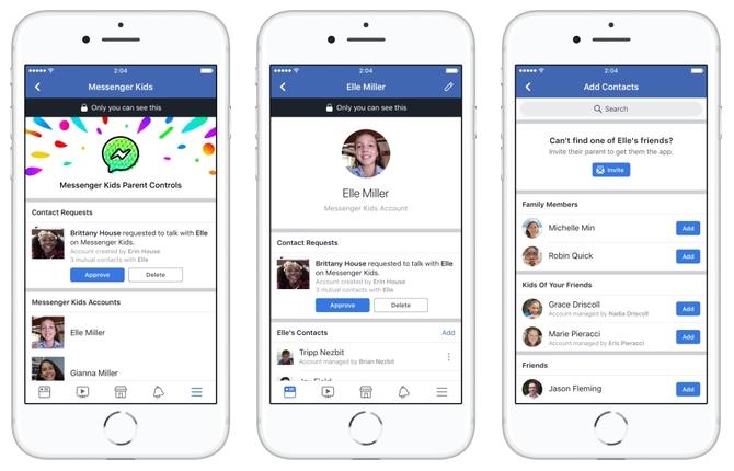 Messenger Kids, czyli komunikator dla dzieci do Facebooka [1]