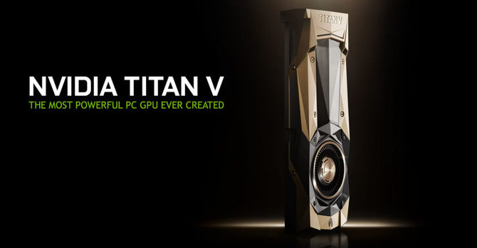NVIDIA ujawnia kartę TITAN V (Volta) w cenie... 2999 USD [1]