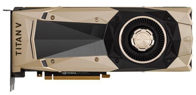 NVIDIA TITAN V - Pierwsze wyniki wydajności karty graficznej [1]