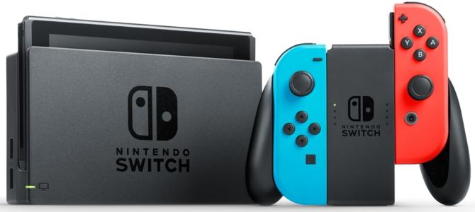 Nintendo sprzedało już ponad 10 milionów konsol Switch [2]