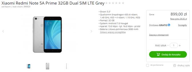 Xiaomi Redmi Note 5A Prime - smartfon w skandalicznej cenie [2]