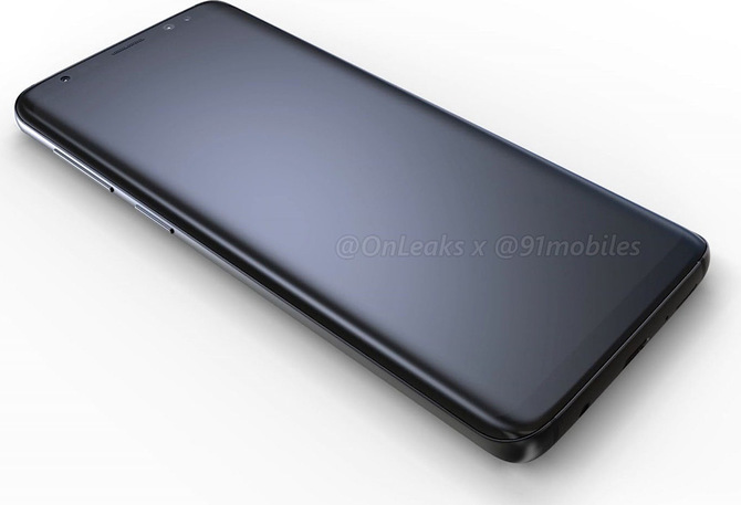 Czy tak ma wyglądać Samsung Galaxy S9? Są pierwsze rendery [1]