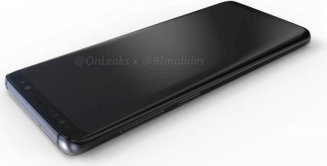 Czy tak ma wyglądać Samsung Galaxy S9? Są pierwsze rendery [2]
