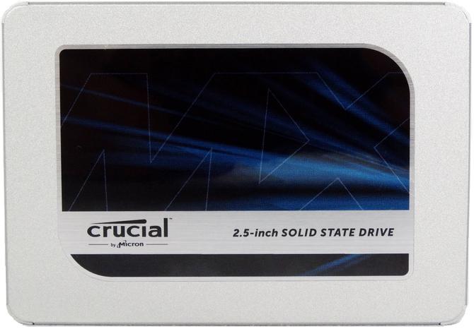 Crucial MX500 - SSD na 64-warstwowych kościach 3D TLC NAND  [1]