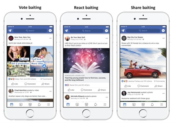 Facebook będzie walczyć z żebraniem lajków [1]