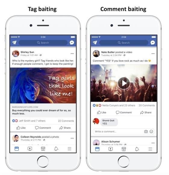 Facebook będzie walczyć z żebraniem lajków [2]