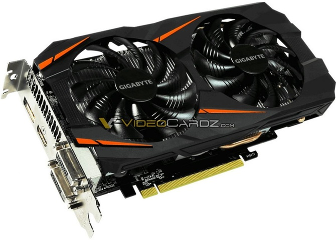 Gigabyte GeForce GTX 1060 5 GB WindForce OC już na zdjęciach [1]