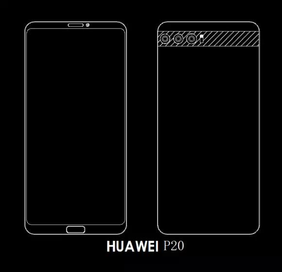 Do sieci wyciekł design Huawei P20 - będą trzy obiektywy [1]