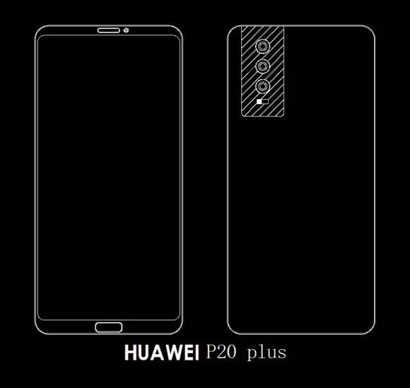 Do sieci wyciekł design Huawei P20 - będą trzy obiektywy [2]