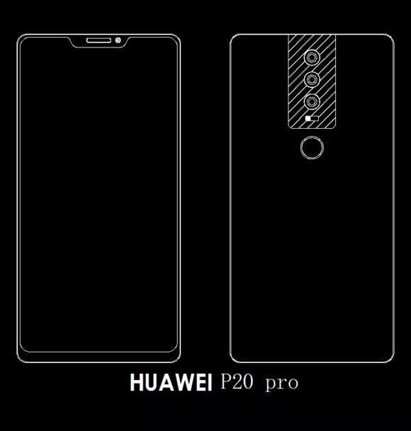 Do sieci wyciekł design Huawei P20 - będą trzy obiektywy [3]