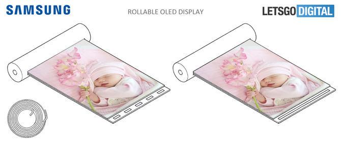 Samsung patentuje urządzenia ze zwijanym ekranem OLED [1]
