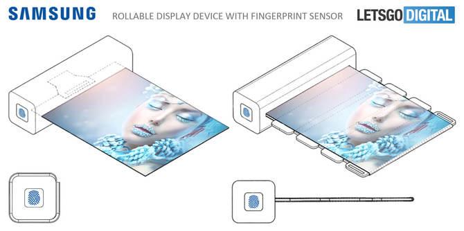 Samsung patentuje urządzenia ze zwijanym ekranem OLED [2]