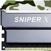 G.Skill Sniper X - Konsumenckie pamięci w militarnym stylu