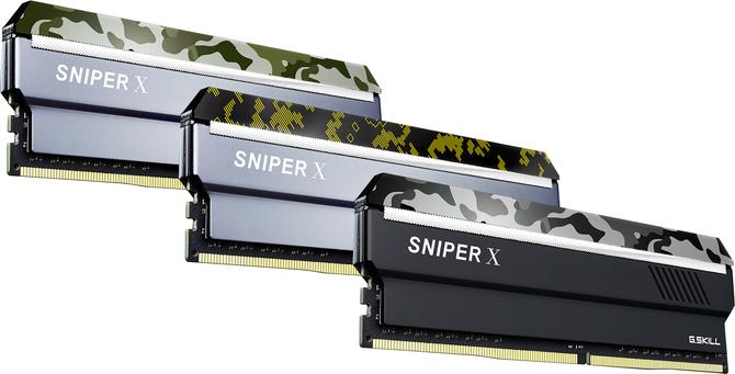 G.Skill Sniper X - Konsumenckie pamięci w militarnym stylu [1]