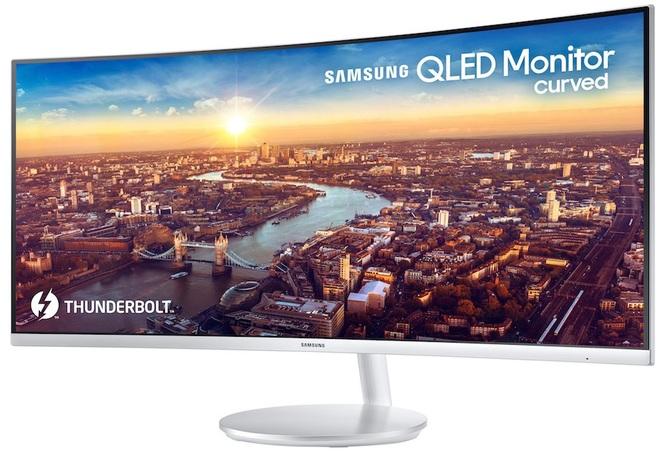 Samsung CJ791 - nowy monitor QLED z portem Thunderbolt 3 [5]