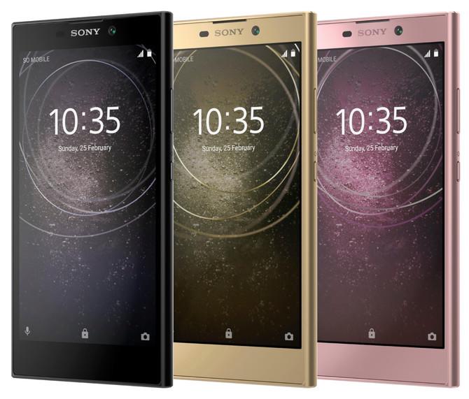 Na targach CES zobaczymy Sony Xperia XA2, XA2 Ultra i L2 [5]