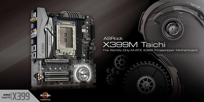 ASRock kusi propozycją płyty mATX dla AMD Ryzen Threadripper [1]